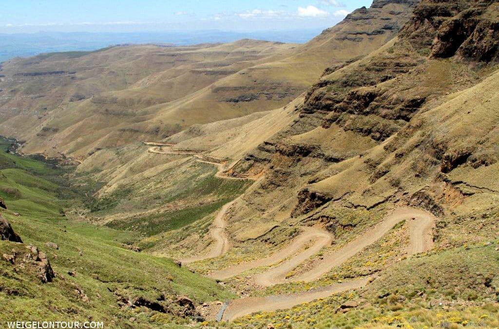 Sani-Pass im Rückwärtsgang