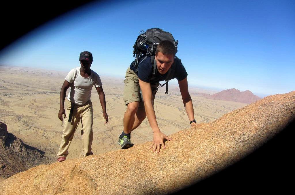 Luftiges Abenteuer: Die Besteigung der Spitzkoppe