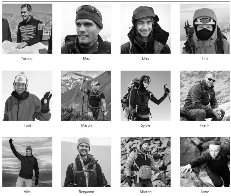 Projekt 7000: Das Team