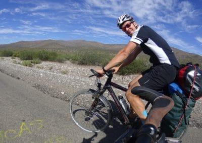 Mit dem Fahrrad vom Pazifik zum Atlantik.