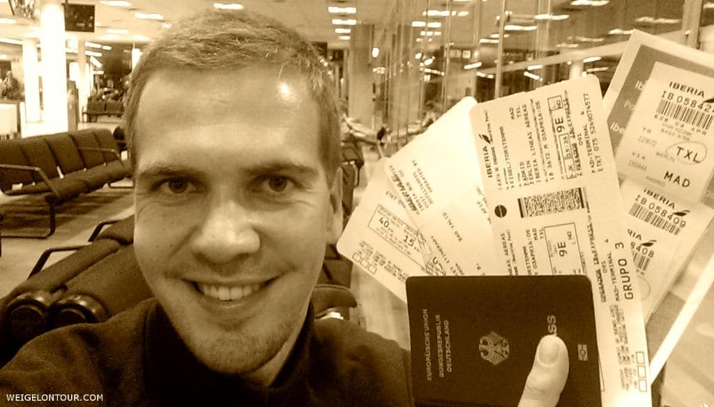 2. April 2015, 20 Uhr Ortszeit (0 Uhr deutsche Zeit) auf dem internationalen Flughafen von Buenos Aires.