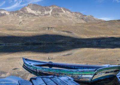 Die Laguna Pampalarama (4486 Meter) in Bolivien.