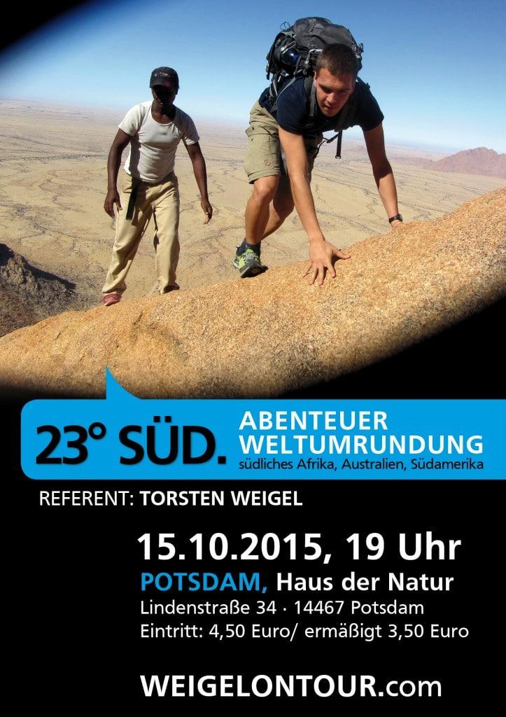 Vortrag in Potsdam 10/2015.