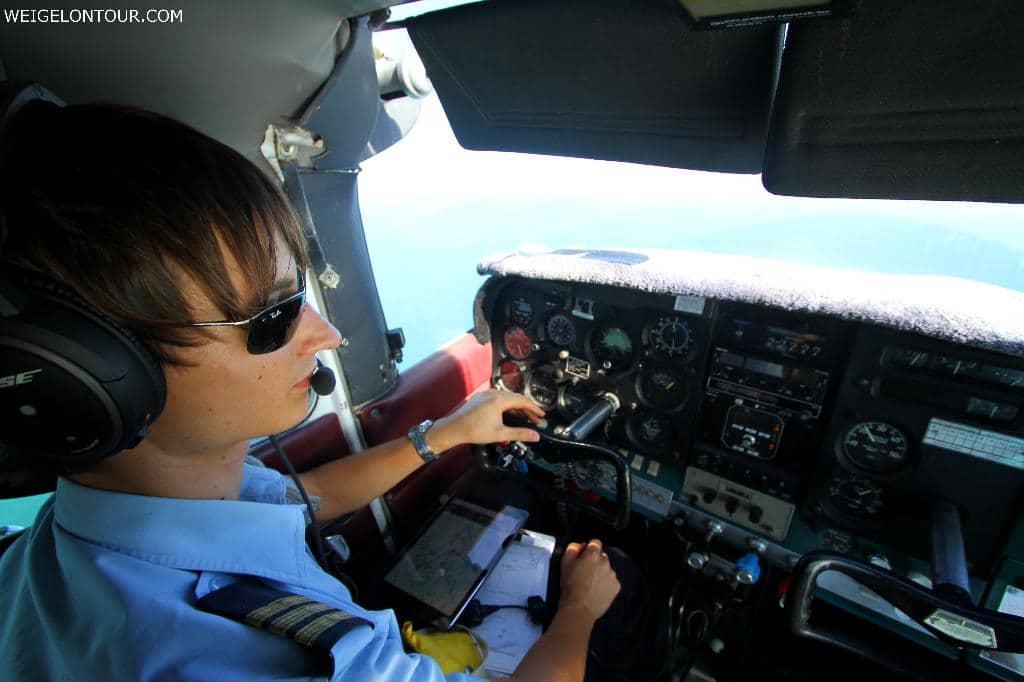 Der Flug mit Jeff, über die Weiten des Shark-Bay-Weltkulturerbes, wird mir in Erinnerung bleiben.