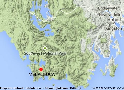 Der 'Flughafen' (eine Schotterpiste) von Melaleuca ist der Ausgangspunkt der Expeditionstour.