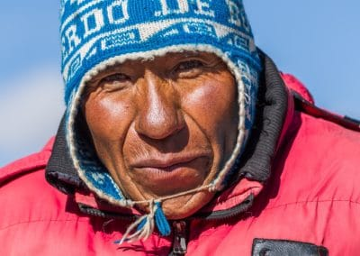 Einheimischer in Bolivien.