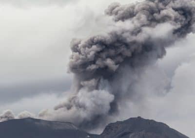 Gewaltig: der ausbrechende Sabancaya in Peru.